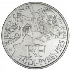 10 Euros des Régions 2012  - Midi Pyrennées