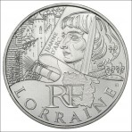 10 Euros des Régions 2012  - Lorraine