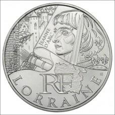 10 Euro des Régions 2012  - Lorraine