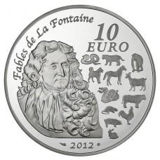 ANNEE DU DRAGON 2012 - 10 EUROS ARGENT