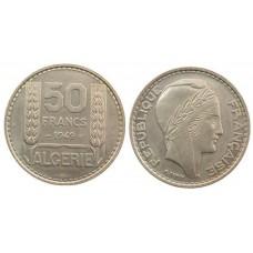 ALGERIE 50 FRANCS TURIN 1949