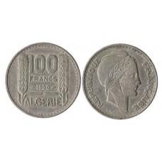 ALGERIE 100 FRANCS TURIN 1950