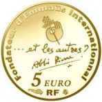 Abbé Pierre 2012 - 5 euro Or