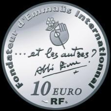 ABBE PIERRE 2012 - 10 EUROS ARGENT