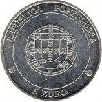 "Portugal 2005 - 5 euro ""Angra Do Heroismo"""