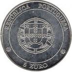 """Portugal 2005 - 5 euro """"Angra Do Heroismo"""""""