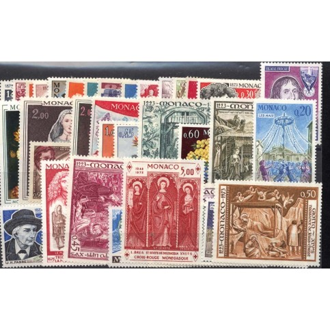 MONACO ANNEE COMPLETE NEUVE 1973