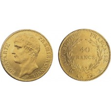 BONAPARTE 1ER CONSUL OR - AN11/12 - 40 FRANCS