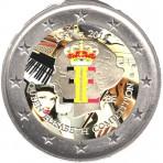 Belgique 2012 - 2 euro commémorative en couleur