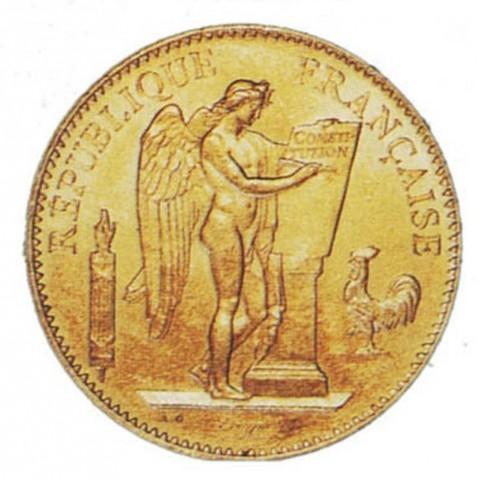 GENIE  - 1878/1904 - 50 FRANCS OR