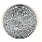 Nouvelle Calédonie - 1 Franc