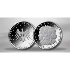 ALLEMAGNE 2012 - 10 EUROS FRERES GRIMM