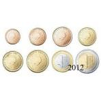 Pays-Bas 2012 - Série complète euro neuve