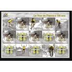 Cyclisme - 100 timbres différents