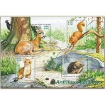 Animaux - 100 timbres différents
