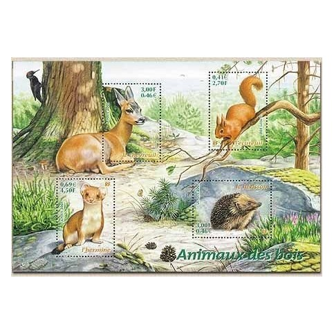 ANIMAUX - 100 TIMBRES DIFFERENTS