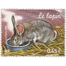 ANIMAUX DE LA FERME - 50 TIMBRES DIFFERENTS