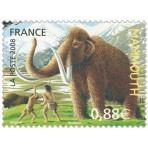 Animaux Préhistoriques - 100 timbres différents