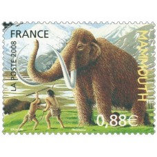 ANIMAUX PREHISTORIQUES - 100 TIMBRES DIFFERENTS