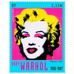 Artistes de cinéma - 50 timbres différents