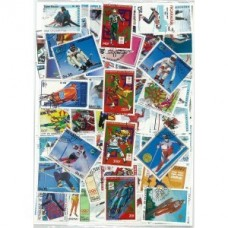 JO HIVER LILLEHAMMER - 20 TIMBRES DIFFERENTS