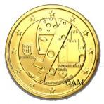 Portugal 2012 - 2 euro commémorative dorée à l'or fin 24 carats