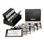 100 Cartes rangement timbres - 3 bandes