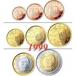 Espagne 1999 : Série complète euro neuve