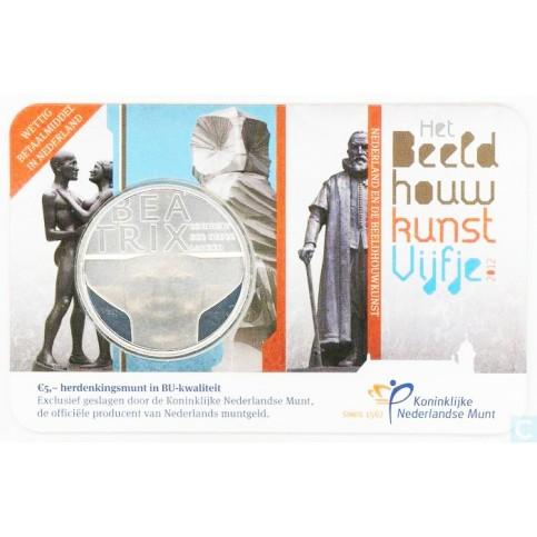 PAYS-BAS 2012 - COINCARD 'Sculpture ' - 5 euros