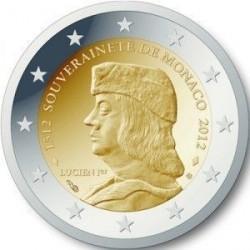 Monaco 2012 GRIMALDI - 2 euro commémorative