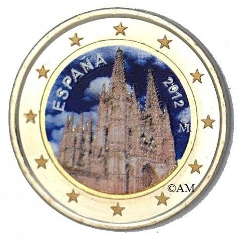 ESPAGNE 2012 - 2 EURO COMMEMORATIVE EN COULEUR
