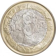 FINLANDE 2012 - 5 Euro Flore série 'Nature du Nord'