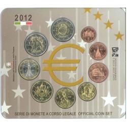 Italie 2012 - Coffret euro BU