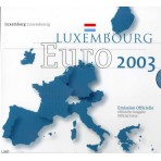 Luxembourg 2003 - Coffret euro BU