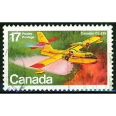 AVIONS CANADAIRS - 25 TIMBRES DIFFERENTS
