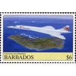 Avions Concorde - 25 timbres différents