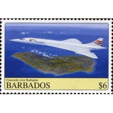 AVIONS CONCORDE - 25 TIMBRES DIFFERENTS