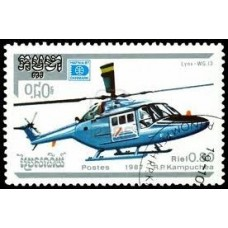 AVIONS HELICOPTERES - 25 TIMBRES DIFFERENTS