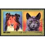 Chats et Chiens - 100 timbres différents