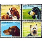 Chiens - 100 timbres différents