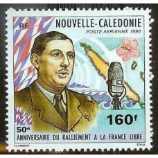 DE GAULLE - 100 TIMBRES DIFFERENTS