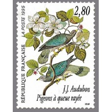 PEINTRE AUDUBON - 25 TIMBRES DIFFERENTS