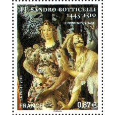 PEINTRE BOTICELLI - 25 TIMBRES DIFFERENTS