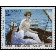 PEINTRE MANET - 15 TIMBRES DIFFERENTS