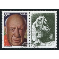 PEINTRE PICASSO - 100 TIMBRES DIFFERENTS