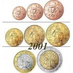 France 2001 : Série complète euro neuve