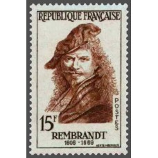 PEINTRE REMBRANDT - 75 TIMBRES DIFFERENTS