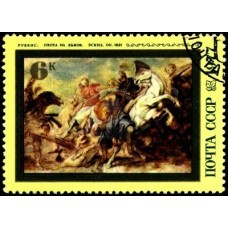 PEINTRE RUBENS - 25 TIMBRES DIFFERENTS