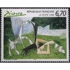PEINTRES FRANCAIS - 100 TIMBRES DIFFERENTS