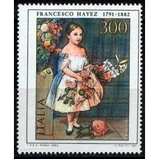 PEINTRES ITALIENS - 100 TIMBRES DIFFERENTS